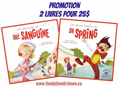 2 Dr. Clown books for $25